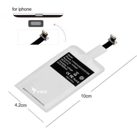 Беспроводной приемник-катушка, зарядка для iPhone и других смартфонов