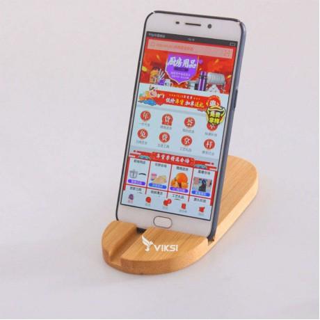 Деревянная подставка для смартфона или планшета Rustik