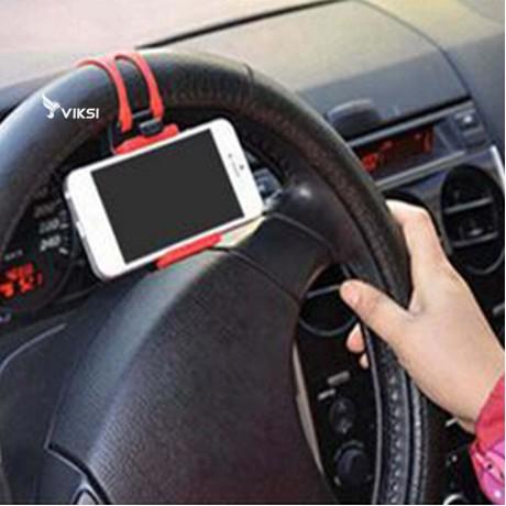 Держатель для смартфона на руль автомобиля