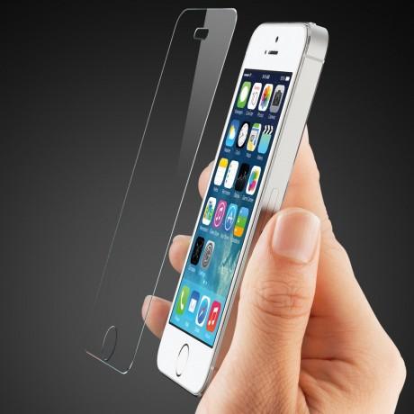 Защитное стекло для iPhone 5, 5c, 5 SE