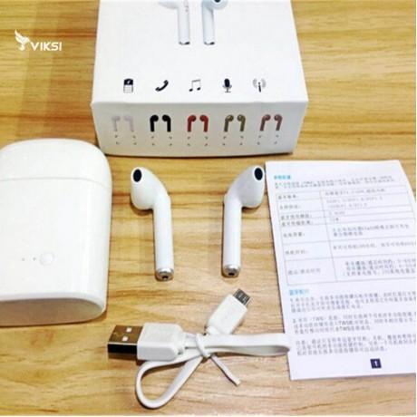 Беcпроводные наушники  для iPhone, гарнитура AirPods