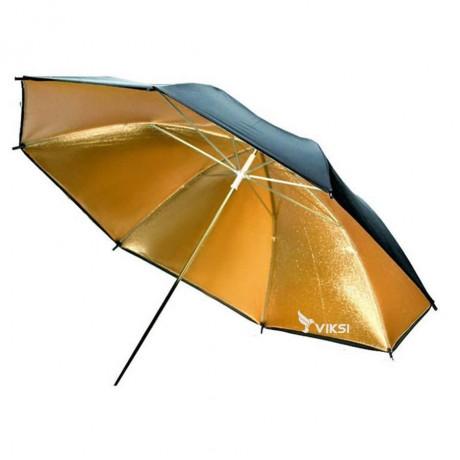 Студийный зонтик (Gold) отражательдля фотостудии (83 см)