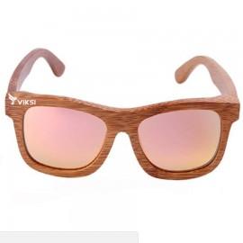 Солнцезащитные деревянные очки Chicago Pink