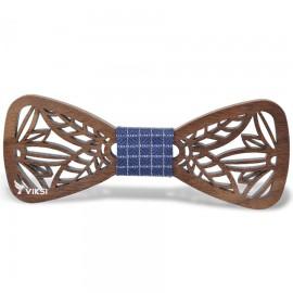 Деревянная бабочка Modern Blue  для парня