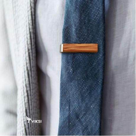 Деревянный зажим для галстука Light