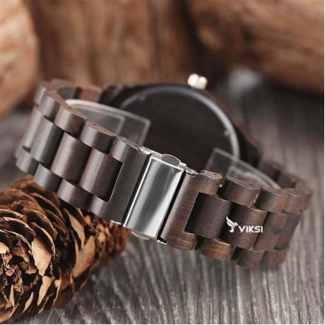 Деревянные наручные часы Chicago