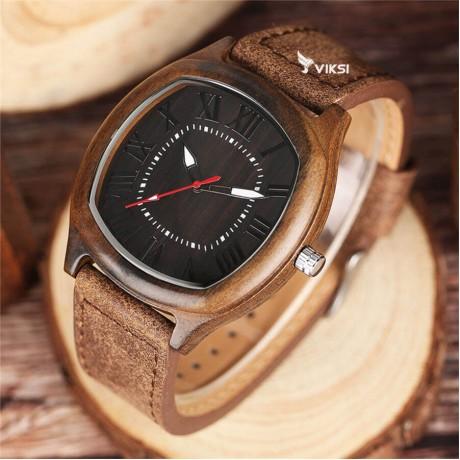 Деревянные наручные часы Grace