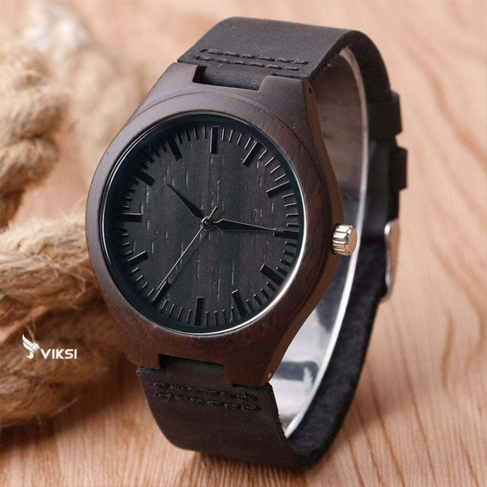 Деревянные наручные часы Classic