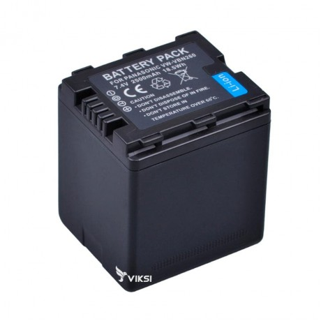 Аккумулятор Panasonic VW-VBN260  (2500mah)