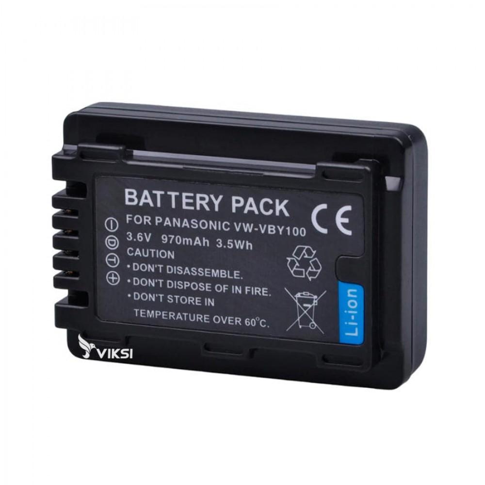 Аккумулятор Panasonic VW-VBY100  (970mah)