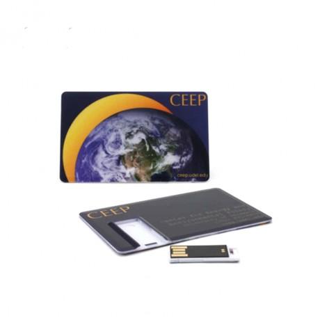 Флешка карточка Steel