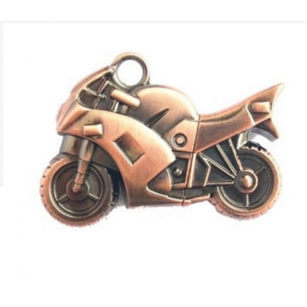 Флешка металлическая Moto