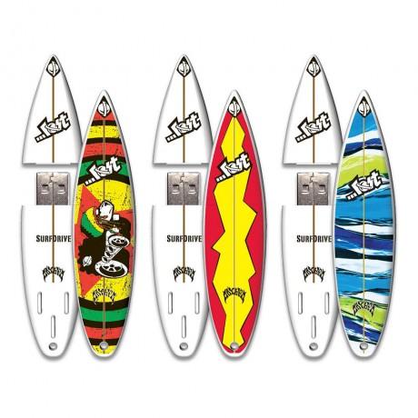 Флешка пластиковая Surfboard