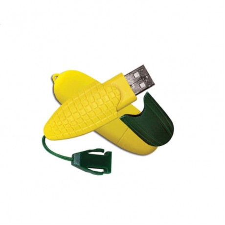 Флешка пластиковая Corn