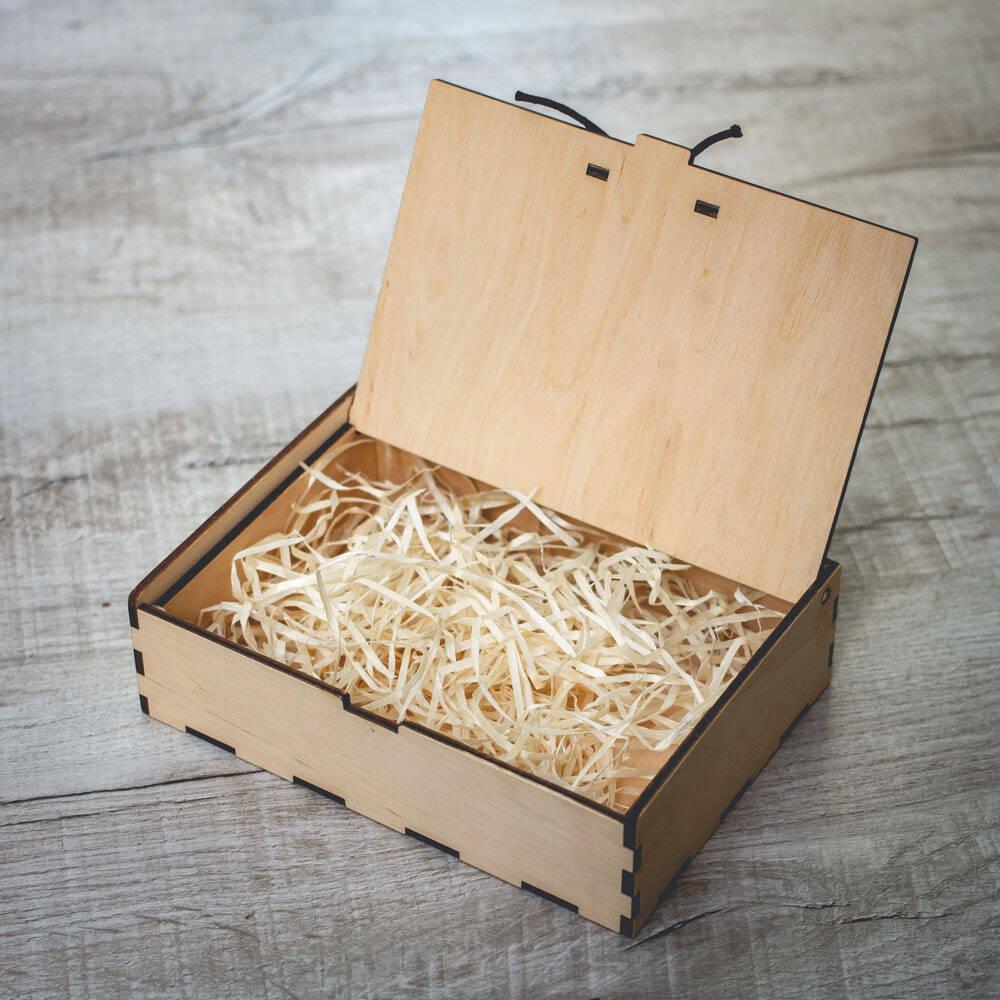Подарочная деревянная коробочка Bloom S