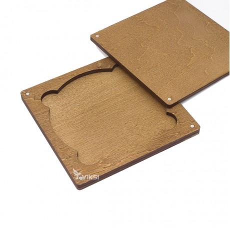 Коробочка деревянная Disk под диск