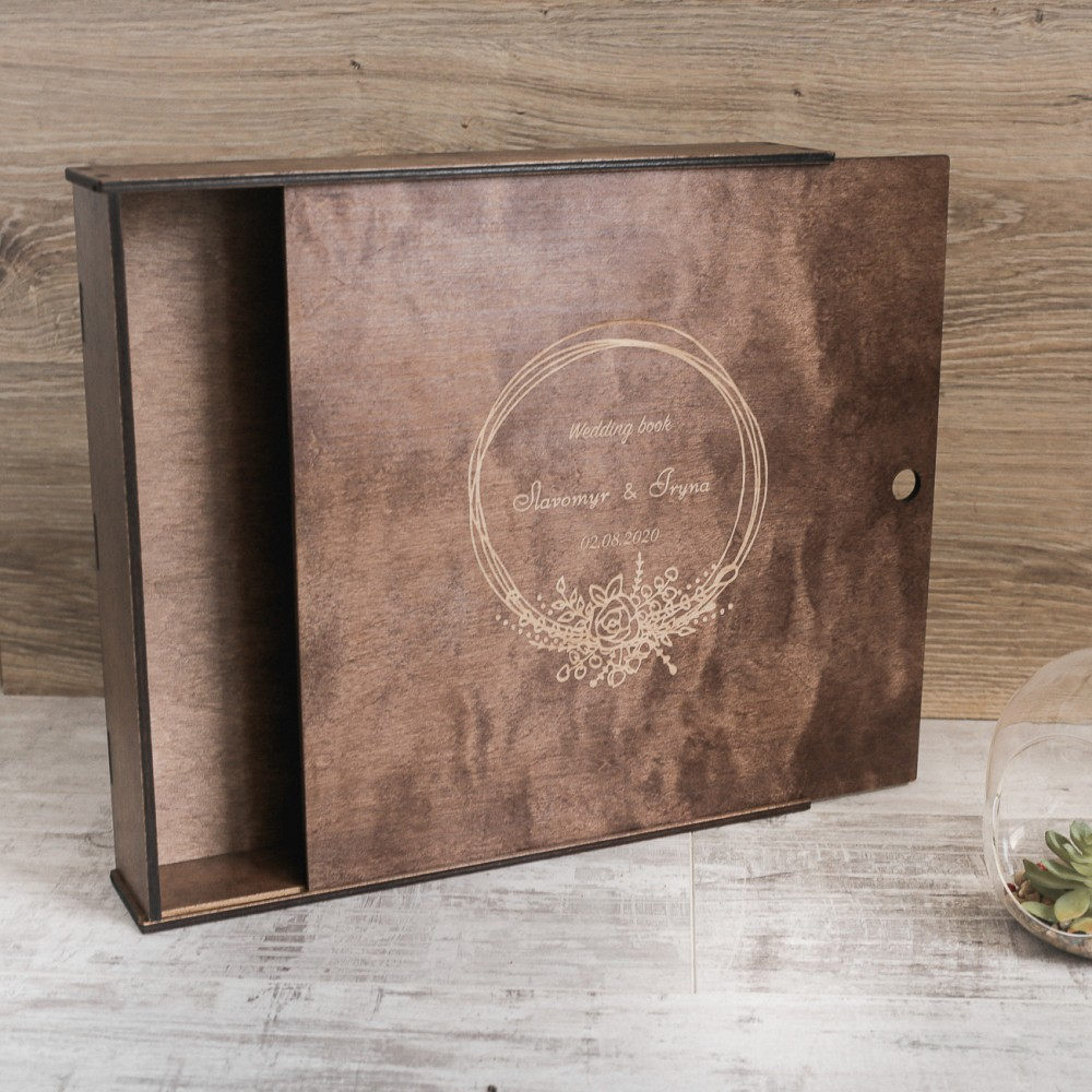 Коробочка для свадебного фотоальбома
