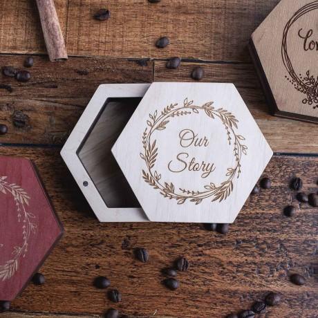 Коробочка деревянная Craft Plus под флешку