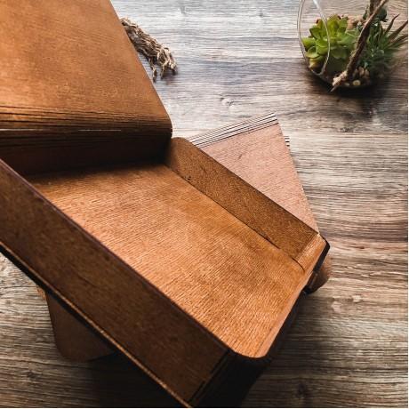 Коробочка деревянная Flex под фото 15х21