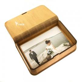 Коробочка деревянная Flex под фото 10х15