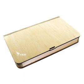 Коробочка деревянная Flex под фото 15х21 и флешку