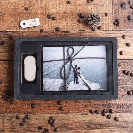 Стеклянная коробочка Glass для фотографий