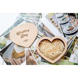 Коробочка деревянная Love Plus