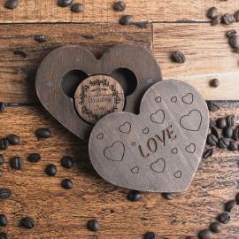 Коробочка деревянная Love