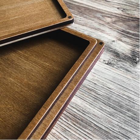 Коробочка деревянная Perfection для фото 13х18