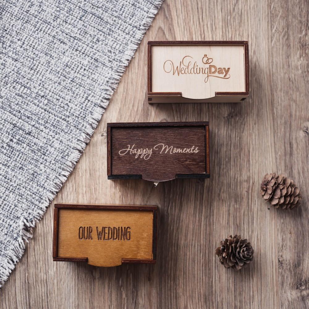 Подарочная коробочка  Simple под флешку или украшения