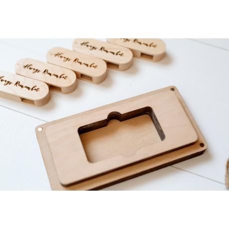 Коробочка деревянная Slim